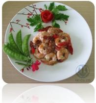 Cooked CPTO Vannamei Shrimp